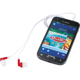 Color Dip Ear Buds for Marketing