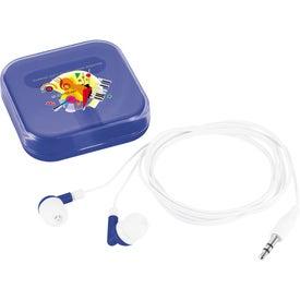 Logo Color Dip Ear Buds