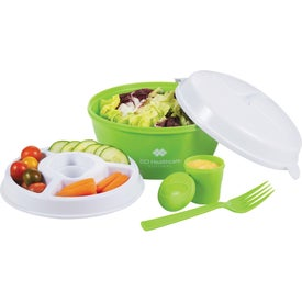 Promotional Color Dip Salad Bowl Set