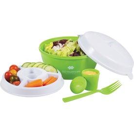 Promotional Color Dip Salad Bowl Set