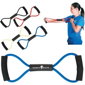 Latex Exercise Band with Your Slogan