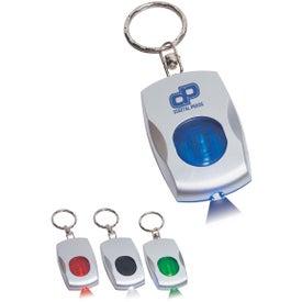 Custom Color Light Key Chain