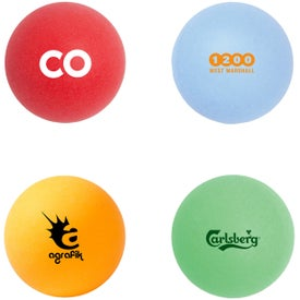 Company Color Ping Pong Ball