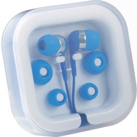 Imprinted Color Pop Earbuds