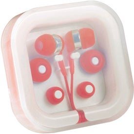 Personalized Color Pop Earbuds