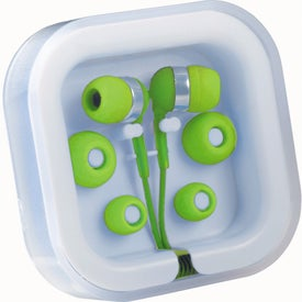 Color Pop Earbuds With Microphone