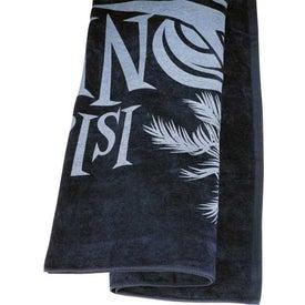 Logo Colored Beach Towel