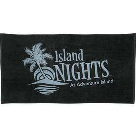 Company Colored Beach Towel