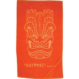 Colored Beach Towel for Promotion