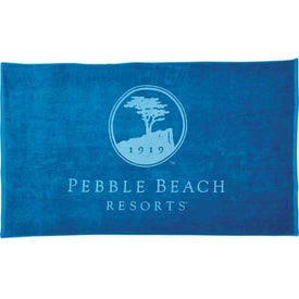 Colored Beach Towel with Your Logo