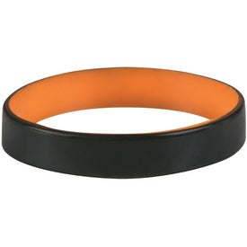 Advertising Colored Letter Silicone Bracelet