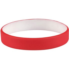 Company Colored Letter Silicone Bracelet