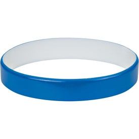Colored Letter Silicone Bracelet for Your Organization