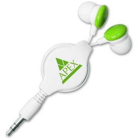 Colorful Retractable Candy Ear Buds for Marketing