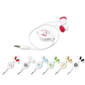 Colorful Retractable Candy Ear Buds