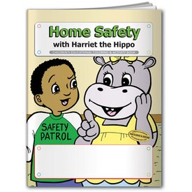 Coloring Book: Home Safety with Your Slogan