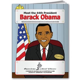 Coloring Book: Meet President Barack Obama