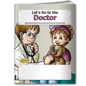 Logo Coloring Book: Let's Go to the Doctor
