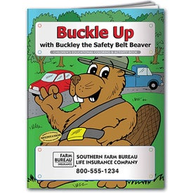 Imprinted Coloring Book: Buckle Up