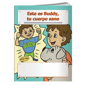 Printed Coloring Book: Buddy Your Healthy Body