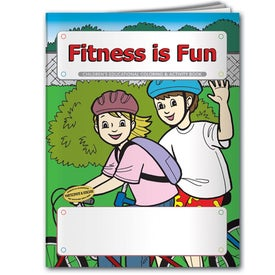 Coloring Book: Fitness is Fun for Your Church