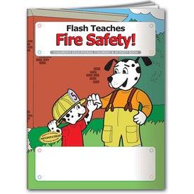 Logo Coloring Book: Flash Teaches Fire Safety