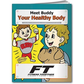 Meet Buddy Your Healthy Body Coloring Book (10 Sheets)