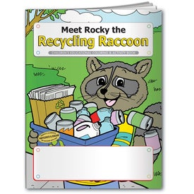 Logo Coloring Book: Meet Rocky the Recycling Raccoon