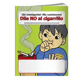 Branded Coloring Book: Say No to Smoking