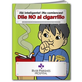 Say No to Smoking Coloring Book (Spanish, 10 Sheets)