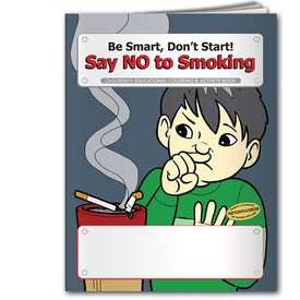 Company Coloring Book: Say NO to Smoking