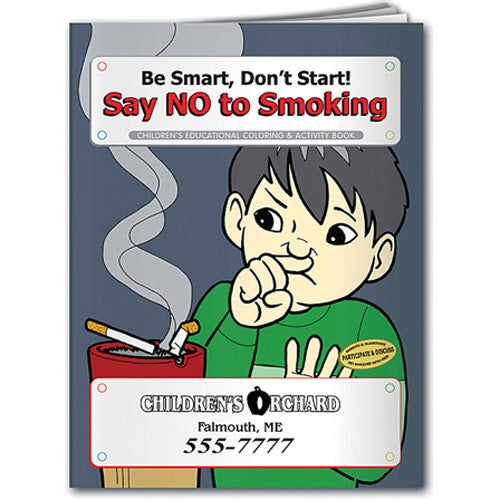 Coloring Book: Say NO to Smoking