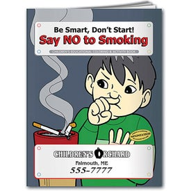 Coloring Book: Say NO to Smoking for your School