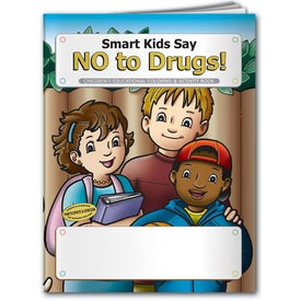 Printed Coloring Book: Smart Kids Say No to Drugs