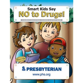 Smart Kids Say No to Drugs Coloring Book (10 Sheets)