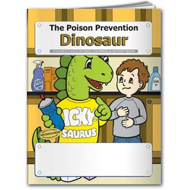 Custom Coloring Book: The Poison Prevention Dinosaur