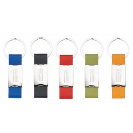 Colorplay Leatherette Key Rings
