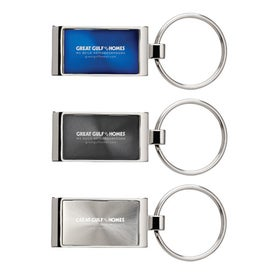 Colorplay Rectangular Key Ring