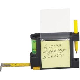 Monogrammed Combo Tape Measure / Level