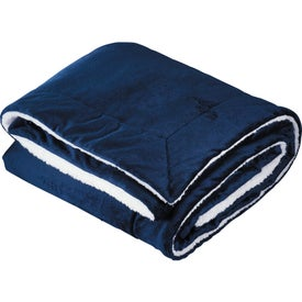 Comforter Throw with Your Logo