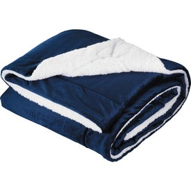 Comforter Throw Imprinted with Your Logo