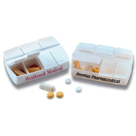 Compact 7 Day Pill Holder