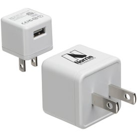 Compact AC-to-USB Adapter