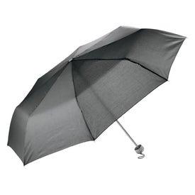 Compact Brief Umbrella with Your Slogan