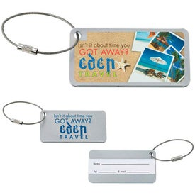 Compact Luggage Tag for Marketing