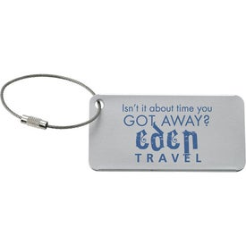 Compact Luggage Tag for Your Church