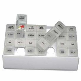 Custom Compact Medicine Tray Organizer