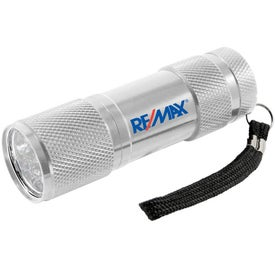 Compact Metal Flashlight for Customization