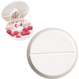 Compact Pill Cutter and Dispenser with Your Logo