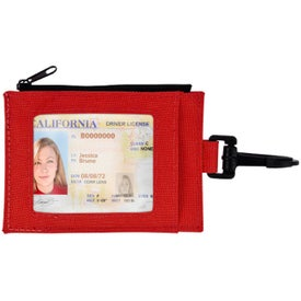 Advertising Compact Travel Wallet